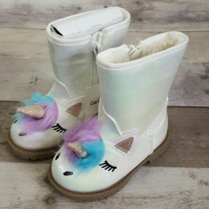 Cat & Jack Girls Unicorn Boots American Girl